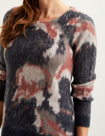 Object stickad pullover