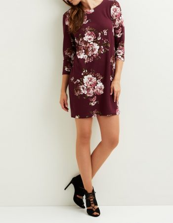 Vitinny 3/4 print dress