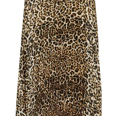 leopard kjol