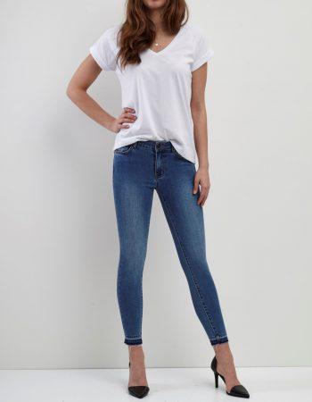 vicommit lux rw 7/8 detail jeans