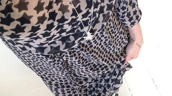 lördag ~ Firar helg i ny klänning från Monrow och halsband från Bud to rose 6ed3ea8fcec8c